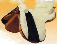 Sheepskin saddle covers for Zaldi saddles